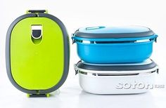 Bento Lunch Box w/ handle for Kids Lunch Container 900 ml - 3 colors available