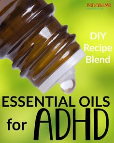 We are embarking on a new experiment around here — using essential oils to help manage Ben's ADHD symptoms.
