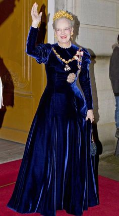 What a figure on this Queen Margrethe II of Denmark.  Wowow We Wah.