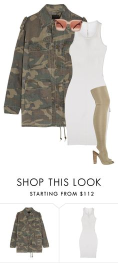 """""""Untitled #47"""" by teesarkis on Polyvore featuring Yves Saint Laurent, ISABEL BENENATO, YEEZY Season 2 and CÉLINE"""