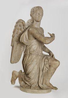 Kneeling Angel, Silvio Cosini, (about 1525-42), Victoria & Albert Museum, London.