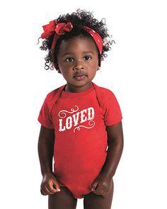 """LOVED"" Infant onesie"