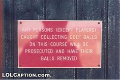 Who knew collecting golf balls could be so dangerous?