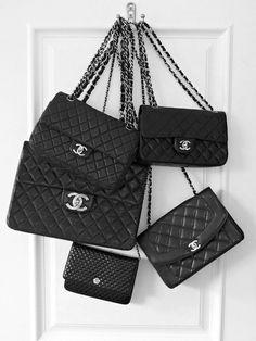 Chanel bags-I want this to be the back of my door!!!!