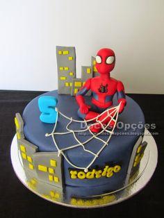 Doces Opções: O Homem Aranha no aniversário do Rodrigo