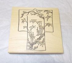Judikins Asian Japanese rubber stamp Choices Big backgrounds Kimono coin mounted #JudiKins