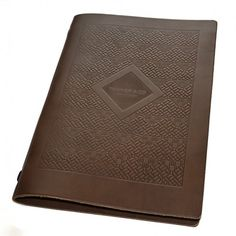 Saddle Hide Menu Covers. The Smart Marketing Group - Hospitality. Rustic themed Restaurant menu presentation. Rustic menu presentation products for hospitality.