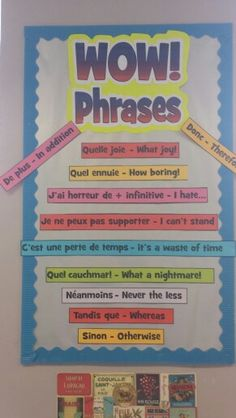 Get students using more interesting phrases to improve their written work.