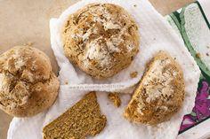 Homemade breads with whole wheat flour - www.flaviamorlachetti.com