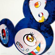 Takashi Murakami, And Then x6 (Blue: The Superflat Method), 2013 on Paddle8