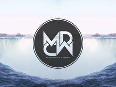 Logo for Manisha Dhuna photography and Codie Wilson graphic designs. Mc Logo, Photography Logos, Buick Logo, Mario, Graphic Design, Affair, Type, Visual Communication, Photo Logo