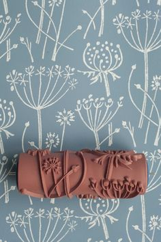Tussock patterned paint roller form The Painted House. Bought this yesterday to decorate the hall, stairs and landing. Great way to change the walls for a little time and money.