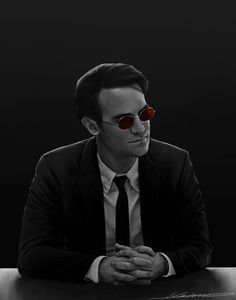 Matt Murdock Art Print by https://society6.com/product/daredevil-9w6_print?curator=acastro