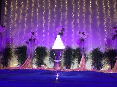Wedding cake at Shangri La Hotel