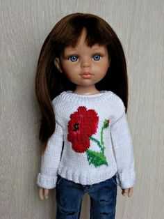 Скидки!!! Много одежды для кукол Paola Reina / Одежда для кукол / Шопик. Продать купить куклу / Бэйбики. Куклы фото. Одежда для кукол Crochet Baby Cardigan, Crochet Baby Hats, Clothes Crafts, Doll Clothes, Puff Stitch Crochet, Smocks, Sasha Doll, Girl Dress Patterns, Hand Knitted Sweaters