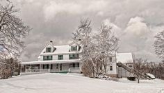 Winter Beauty at The Harrington Farm in Princeton, Massachusetts.  New England's leading destination for wedding receptions, special occasions and corporate events.