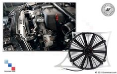 -  - Mishimoto Aluminum Fan Shroud Kit  - Photo #1 Bmw Accessories, Bmw Performance, Bmw Cars, Carbon Fiber, Fan, Cool Stuff, Hand Fan, Fans