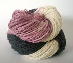 de origen chile - hand-dyed 8-ply thick + thin cotton yarn