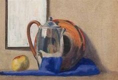 View STILL LIFE, JUG & PLATE By John Luke; Access more artwork lots and estimated & realized auction prices on MutualArt. John Luke, Watercolor Drawing, Still Life, Auction, Plates, Drawings, Artwork, Painting, Licence Plates
