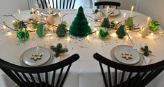 Inspiration til julens borddækning | thevintagehausfrau