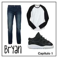 """Bryan - Capítulo"" by lycanthropy-0 on Polyvore featuring Bellfield, Gap, men's fashion e menswear"