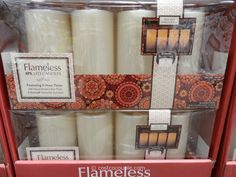 Flameless Candles With Remote Costco Tory Burch Thea Clutch #costco  Addicted To Costco  Pinterest  Costco