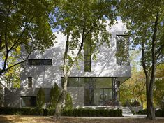 Wheeler Kearns Architects have designed the Lake Shore Drive house in Chicago, Illinois.