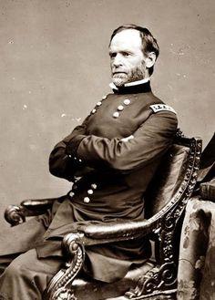 William Tecumseh Sherman (Lancaster, Ohio, 8 de febrero de 1820 – Nueva York, 14 de febrero de 1891) fue un militar, educador y escritor estadounidense. Su celebridad deriva de su participación con el rango de general en la guerra civil de Estados Unidos (1861–1865), donde recibió tanto elogios por su eficiente utilización de la estrategia militar, como también fuertes cuestionamientos por su implacable política de tierra arrasada que aplicó en la llamada guerra total contra el enemigo.