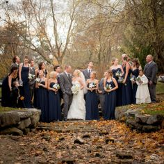 Bridal Party | Blue | Wedding Day | Bride & Groom | Winter Wedding | Love | Saratoga | Canfield Casino © Matt Ramos Photography