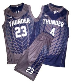 Get custom sublimated youth basketball uniforms online