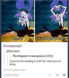 Emperor's new groove - Yzma's voice