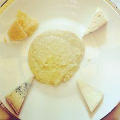 "Fromage et polenta pour finir ce ""light""  italian lunch - Instagram by jepapote"