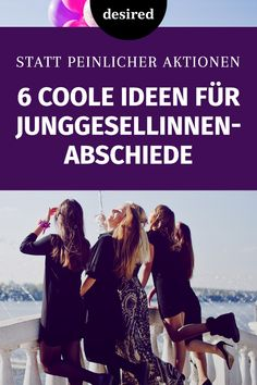 6 coole Ideen für Junggesellinnenabschiede You're planning a bachelorette party, which should not take place with embarrassing belly-sale and stripper? Then have a look at these cool alternative ideas! Bachelorette Party Games, Bachlorette Party, Event Planning, Wedding Planning, Ideas Geniales, Famous Last Words, Bridal Shower Decorations, Girls Dream, Groomsman Gifts