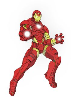 Iron Man Comic Strip Clip Art – Clipart Download