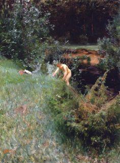 Anders Zorn (1860-1920) - Ruscello