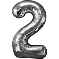 Ballon cijfer 2 voor 2016 - van oud naar nieuw!