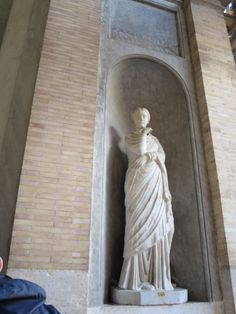 Statue at the Vatican museum