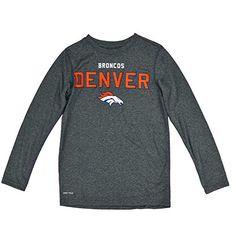 NFL Denver Broncos Dri Tek Youth Long Sleeve Shirt Size Large 14/16,Heather Team Apparel http://www.amazon.com/dp/B0163GXQAU/ref=cm_sw_r_pi_dp_SZxewb1C0R4WJ