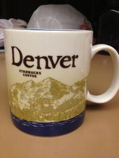 Starbucks Mug - Denver , own!