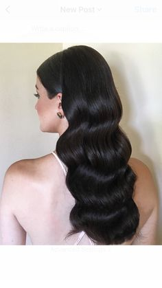 Bridal hairstyles / vintage waves Hair by Bridal Hair Couture By Katie ( Toronto CANADA ) Instagram: @bridalhaircouturebykatie