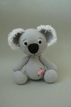 Koala Bear crochet pattern