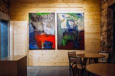 Θησείο Retail Shop, Hotels And Resorts, Restaurant Bar, Athens, Art Pieces, Cool Stuff, Wall, Restaurants, Painting