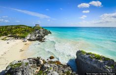 Beach in Tulum, Quintana Roo #Mexico #QuintanaRoo #Tulum #Beach #Inspiration #Travel