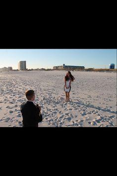 Beach. Proposal. Milso. Engagement :)