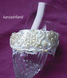 kanzashiland: brazalete victoriano