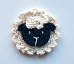 Crochetpedia: 2a. Apliques de animales