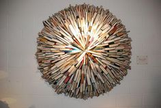 Book Sculpture by Sébastien Magro,