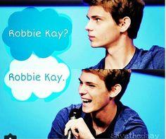 Robbie Kay? Robbie Kay. FIOS and Robbie Kay!!!!
