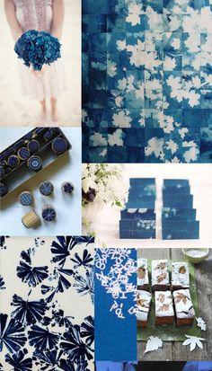 Sunography & Inky Blue Wedding Inspiration | Whiter than White Weddings