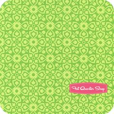 Ticklish Giggles Green Fancy Fun by Me & My Sister Designs for Moda